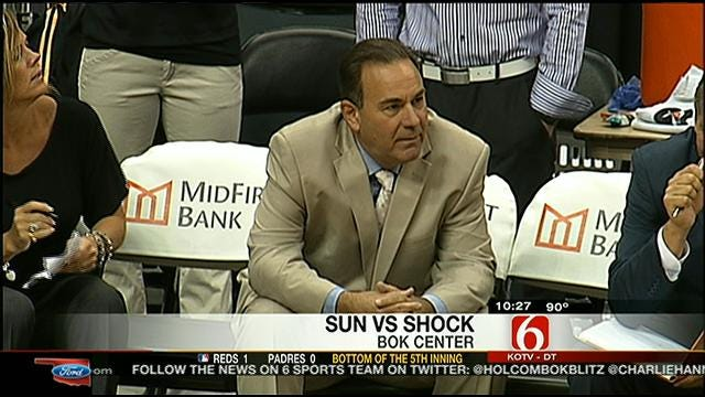 Shock Falls Short Against Sun