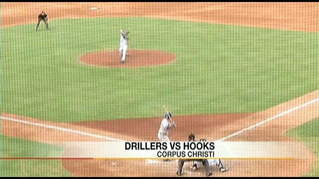 Drillers Beat Hooks 5-1