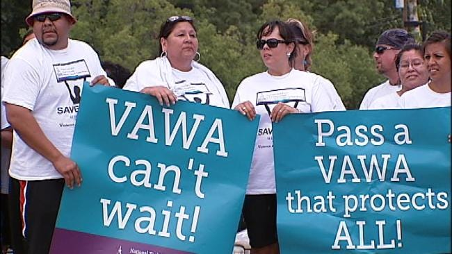 American Indians Take Issue With Violence Against Women Act