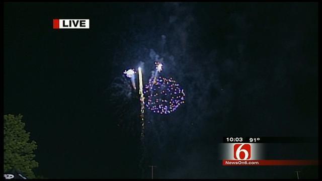 Thousands Attend 'Rockets Over RHEMA' Celebration
