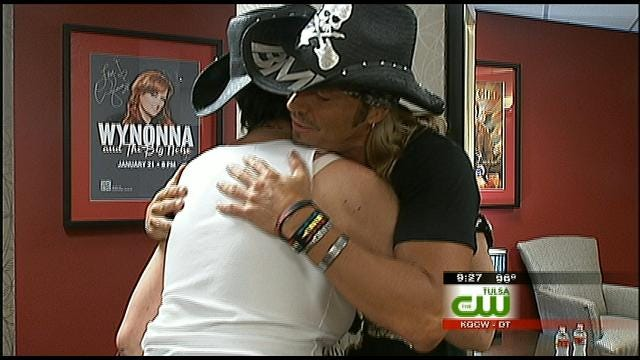 Oklahoman Shares Brain Surgery Experience With Rocker Bret Michaels