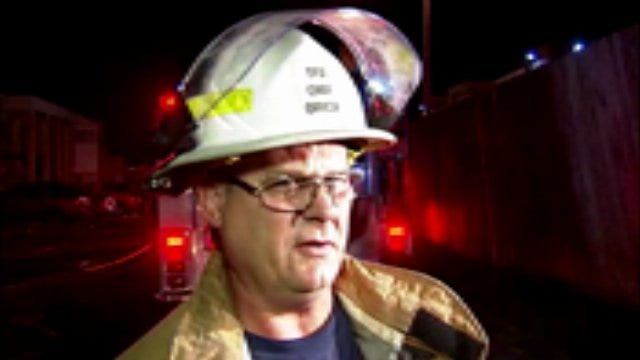 WEB EXTRA: Tulsa Fire District Chief Ronnie Cole Talks About Woman's Rescue