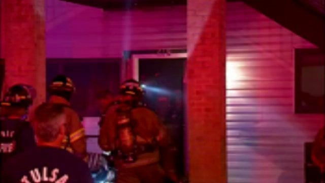 WEB EXTRA: Video From Scene Of Bradford Creek Apartment Fire