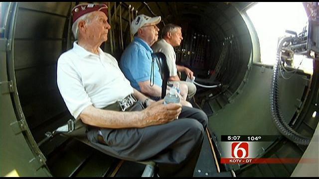 Oklahoma Veterans Go Back In Time In Restored War Plane