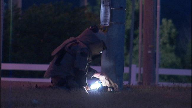 WEB EXTRA: Tulsa Police On Hijacking, Bomb Scare