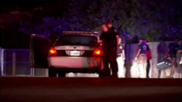 WEB EXTRA: Video From Scene Of Apartment Complex Shooting Thursday Night