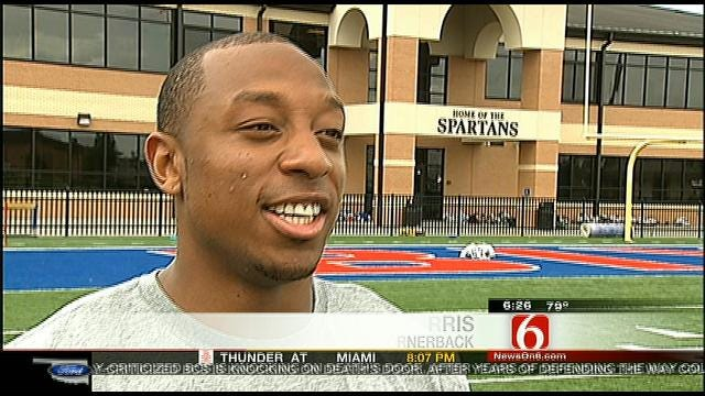 Bixby's Harris Proud To Take Talent To NFL