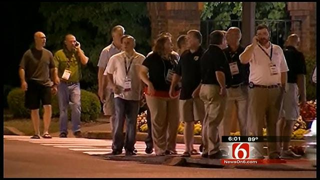 An Explosion In A Nashville Hotel Shakes Up Tulsa's Sheriff's Dept.