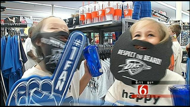 Tulsa Academy Sports Donates 'Thunderwear' To YMCA Day Camp Kids