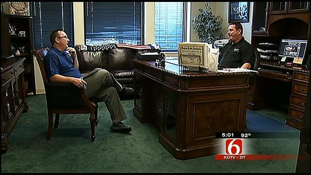 Process Server: Accused Tulsa Cop Impersonator Pulled Gun On Me