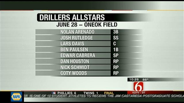 Several Drillers Named To Texas League All-Star Roster