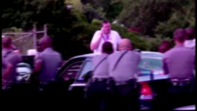 WEB EXTRA: Watch As Officers Take Down Cop Impersonator