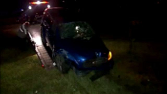WEB EXTRA: Video From Scene Of Broken Arrow Expressway Rollover Crash