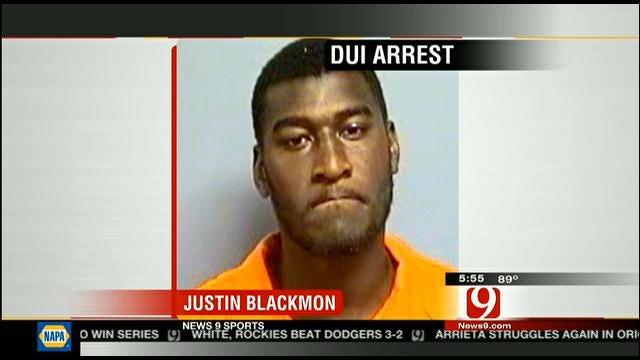 Justin Blackmon Arrested For DUI In Stillwater