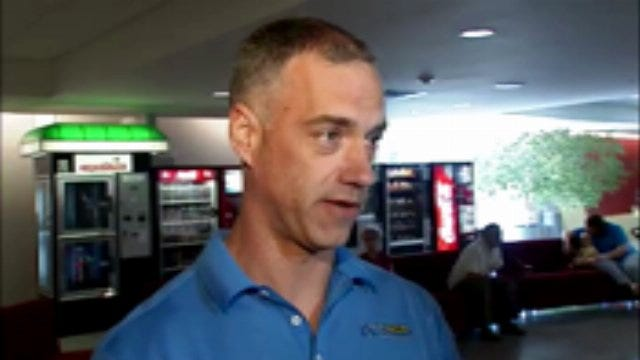 WEB EXTRA: American Passenger Jason Fountain Talks About Chicago O'Hare Flight Experience