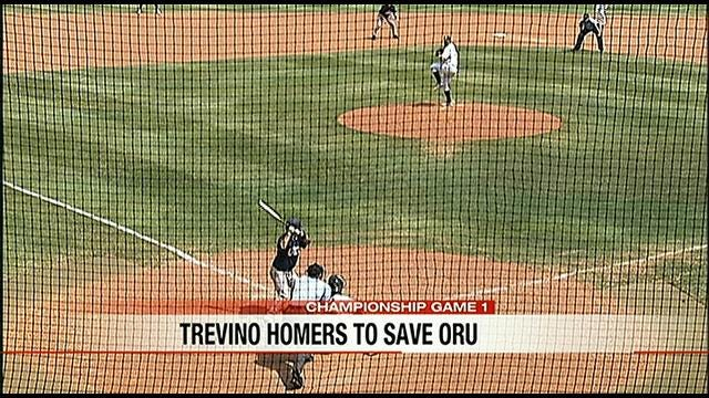 Game Two Highlights: ORU Rallies To Top North Dakota State