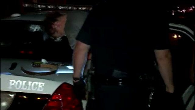 WEB EXTRA: Video From Scene Of Van Burglary On North Santa Fe