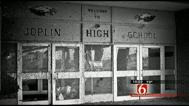 President's Visit Caps Memorable Year For Joplin Seniors