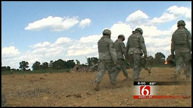 Oklahoma National Guard Soldier Awarded Bronze Star