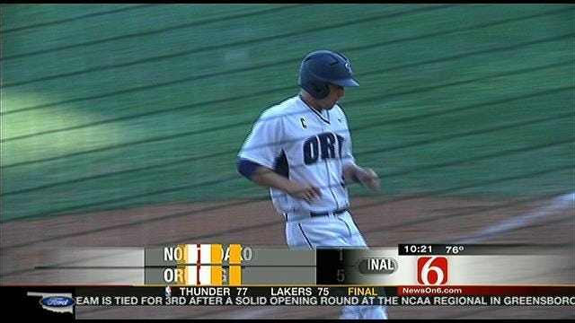 Highlights: ORU Tops Bison In Game One