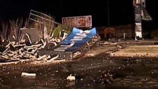 WEB EXTRA: Video Of Storm Damage In Branson, Missouri [KOLR]