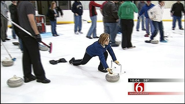 New Tulsa Curling Club Holds Tryouts