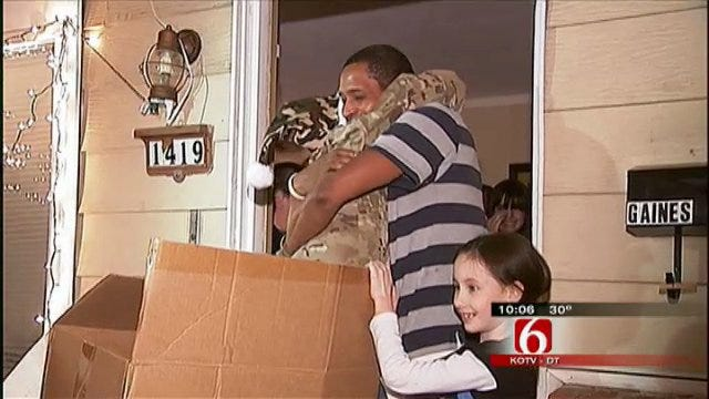 Soldier Mom Surprises Her Green Country Family With Mystery Box