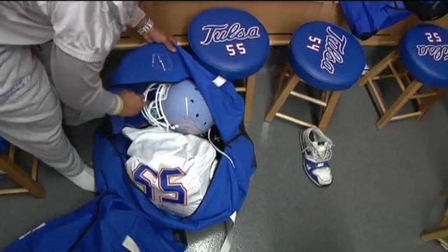 Tulsa's Equipment Manager Talks Road Trips