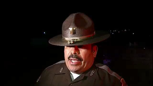 WEB EXTRA: Oklahoma Highway Patrol Trooper Darrick Eades Talks About Crash