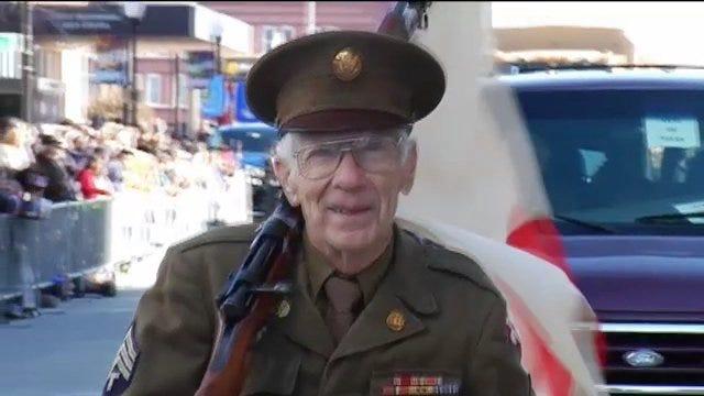WEB EXTRA: Video From Tulsa's Veterans Day Parade