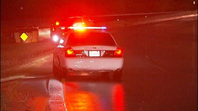 WEB EXTRA: Video From The Scene Of Broken Arrow Expressway Crash