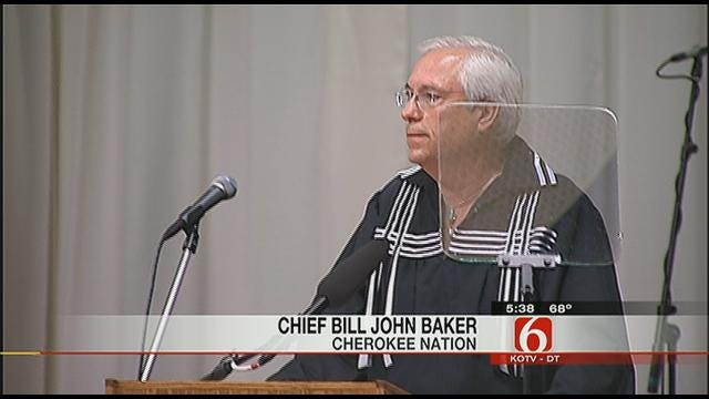 Inauguration Ceremony Held In Tahlequah For New Cherokee Chief