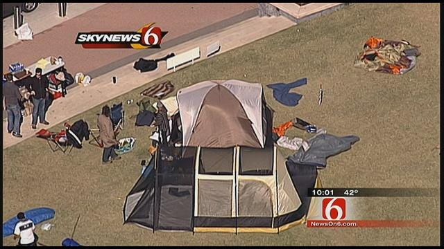 Council Takes No Action on 'Occupy Tulsa' Request
