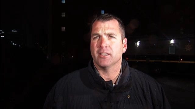 WEB EXTRA: Tulsa Police Officer Jason Willingham Explains Why Police Arrested Protesters