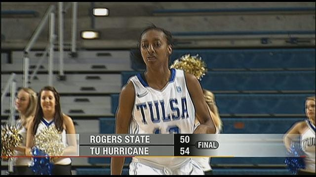 Tulsa Holds off Rogers State