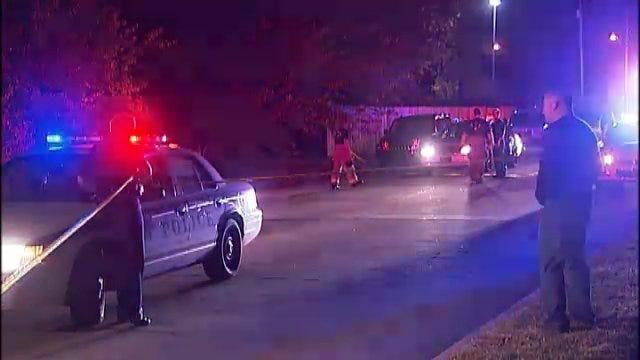 WEB EXTRA: Man Shot, Killed While Driving In North Tulsa Neighborhood