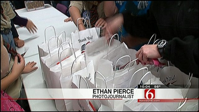 Owasso Cub Scouts Help Pack Freedom Boxes For The Troops