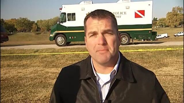WEB EXTRA: Tulsa Police Officer Jason Willingham Answers Pond Search Questions