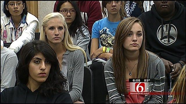 Broken Arrow Senior Rallies Classmates Around Tough Issue