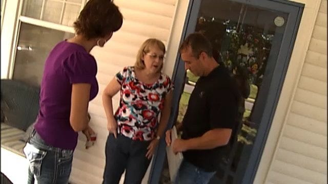 WEB EXTRA: One Woman Refuses To Let Stranger Into Her Home
