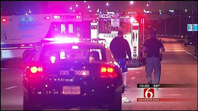 Homeless Man Crossing I-244 In Tulsa Struck, Killed By Multiple Cars