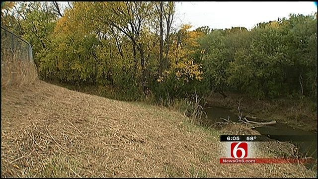 Eroding Bank Threatens Bartlesville River With Wastewater
