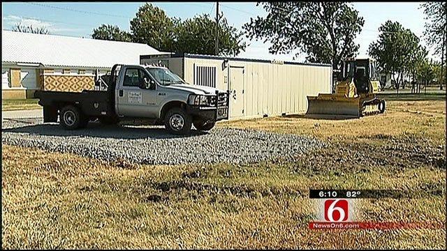 Pryor Youth Program Breaks Ground On New Barracks