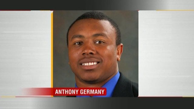 WEB EXTRA: Former TU Football Player Tarrion Adams Talks About Anthony Germany