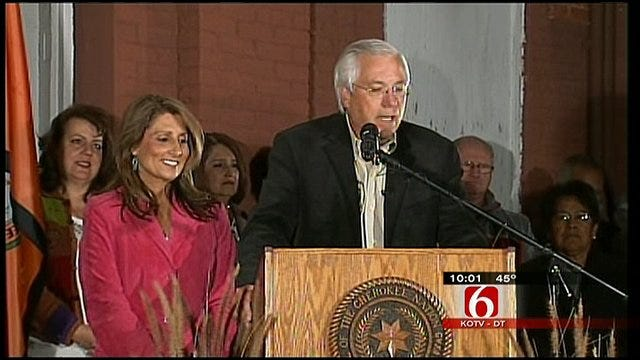 Cherokee Nation Swears-In Baker As Principal Chief