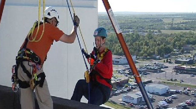Green Country Goes 'Over The Edge' For Special Olympics
