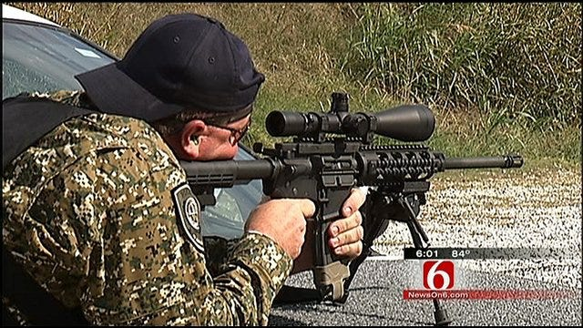 SWAT Teams From Around The World In Tulsa To Test Skills
