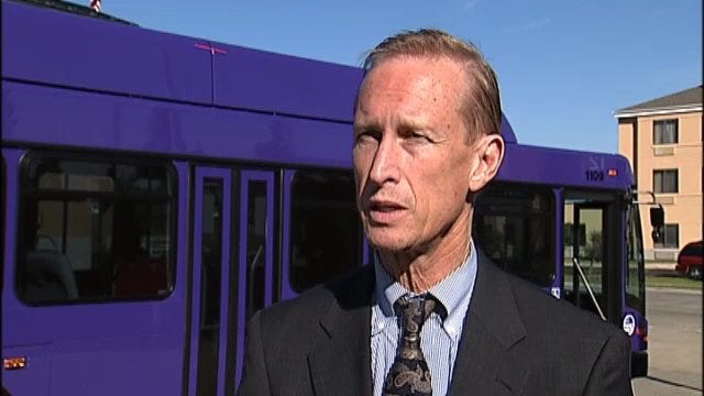 WEB EXTRA: Tulsa Transit General Manager Bill Cartwright Talks About New Buses