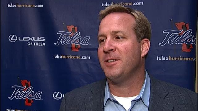 Tulsa Interim Athletic Director Ross Parmley