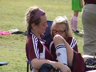 Special Olympians Pair with Students in States Soccer Finals